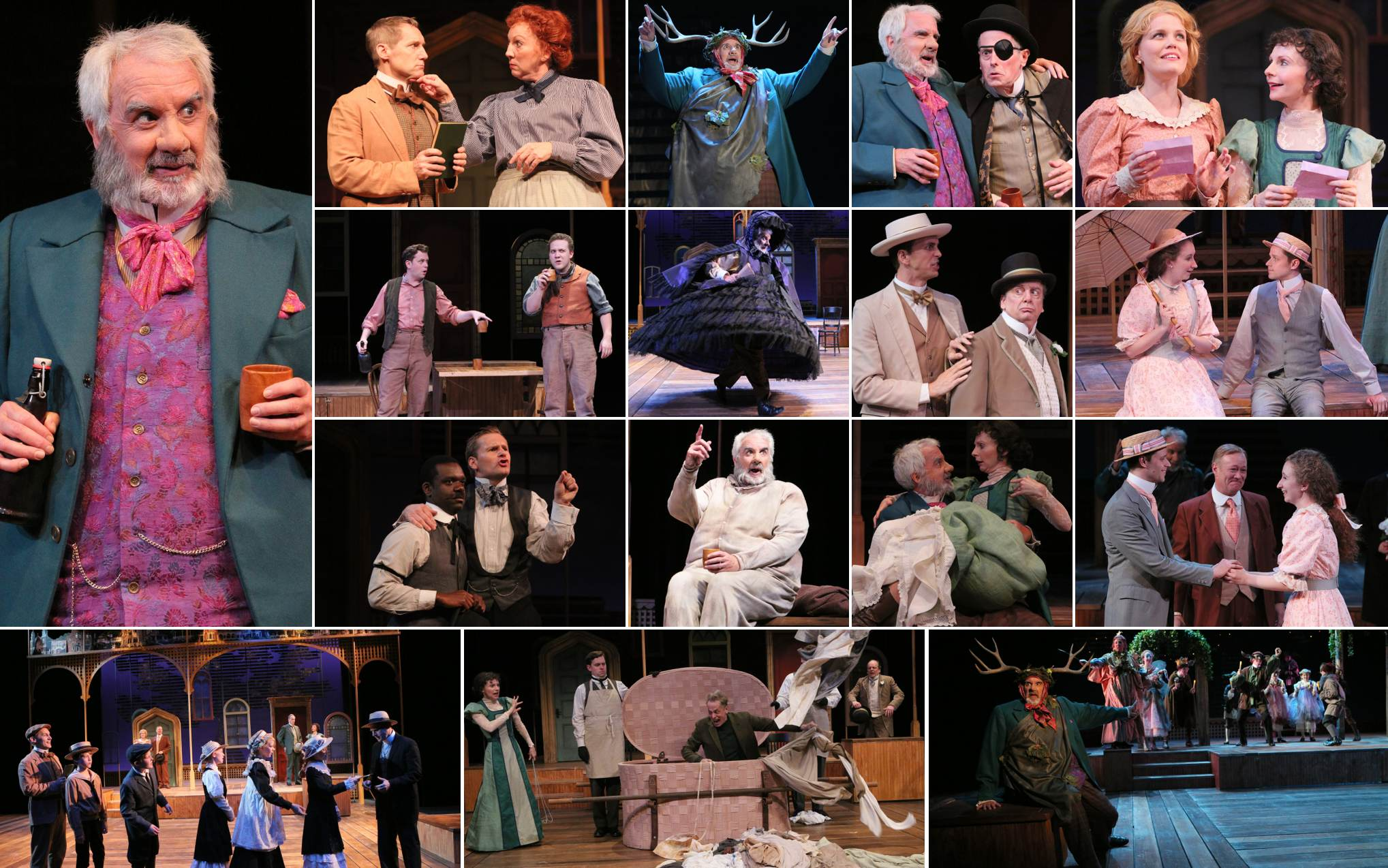 Merry Wives Collage